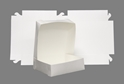 Picture of Cake Box White 1/2 Slab - 380mm x 420mm x 100mm -CAKB157100- (SLV-50)