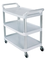 Picture of Rubbermaid Off White Xtra Utility cart (4091)-CLEA384730- (EA)