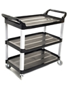 Picture of Utility Cart / Trolley - 3 Shelf Black-CLEA384760- (EA)
