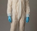 Picture of Coveralls Polypropylene White - Standard non-rated-CLTH832115- (EA)