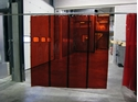 Picture of 1mm Welding Bay Strip Curtain- Including Curtain rings and clips, makes a 1.8M High x 2M Wide Screen-CURT670600- (EA)