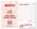 Picture of Takeaway Docket Books 95mm x 148mm TD351  100s-DKTB338250- (CTN-160)