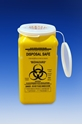 Picture of Sharps Disposal Safes 1.4LT With Lid Yellow -FAID805350- (EA)