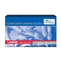Picture of Gloves Plastic Clear HDPE  Polyethylene Large-GLOV468190- (BOX-500)
