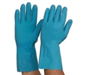 Picture of Gloves Silverlined Rubber Blue-GLOV474745- (CTN-144PR)