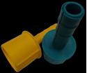 Picture of Bundling Film Dispenser - Green / Yellow  Plastic-INDU665350- (EA)