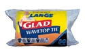 Picture of Glad Wave Top Kitchen Tidy Bin Bag Large (50/Roll)-KITB024305- (EA)