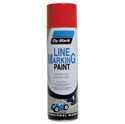 Picture of Paint Cans - Durable Line Marking Spray Paint 500g - Red - Dymark-MARK740350- (EA)