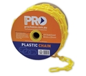 Picture of Plastic Chain Yellow 8mm x 25m-MSAF838450- (ROLL)