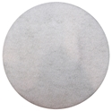 Picture of White Sandscreen Driver/Holder/Pad Backing  400mm -Floor Sanding-SCRU374891- (EA)