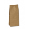 Picture of Tin Tie Poly Lined Brown Bag  - 235x85x47mm - 250gm -TINB062200- (CTN-500)