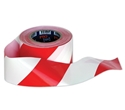 Picture of Hazard / Barricade Tape  Red/White 100m x 75mm-WARN833200- (EA)