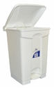 Picture of 47lt White Plastic Pedal Bin -BINS386210- (EA)