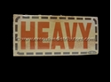 Picture of Heavy- Printed Labels-LABE642650- (BOX-500)