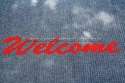 Picture of Mat Welcome Entrance 1200mm x 1900mm Black/Red-MATT359035- (EA)