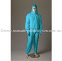 Picture of Coveralls Polypropylene Blue -Standard Non-Rated-CLTH832116- (EA)