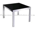 Picture of Glass/Chrome Coffee Table 600mm x 600mm-FURN358498- (EA)