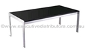 Picture of Glass/Chrome Coffee Table 1200mm x 600mm-FURN358501- (EA)