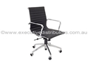 Picture of Executive Chair - Medium Back, Infinite Tilt Lock, Chrome Arms and Base-FURN358719- (EA)