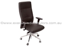 Picture of Executive Chair - Chrome base and  Multi positionTilt lock - High Back-FURN358723- (EA)