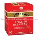 Picture of Twinings Enveloped Tea Bags English Breakfast -PORT278000- (BOX-10)