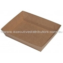 """Picture of Cardboard Food tray no.3 Kraft """"Betaboard"""" - 180mm x 130mm Base Dimensions x 40mm High-TRAY164975- (CTN-240)"""