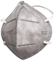 Picture of 3M 9542A  P2 Particulate Respirator with Relief from Nuisance Level Organic Vapour - Non Valved-RESP820665- (BOX-25)