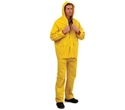Picture of Rain Jacket (Waist Length) Yellow PVC with two Large Pockets and Hood-CLTH832410- (EA)