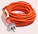 Picture of Electric Extension Cord 20 Metre -  10Amp 3core - Orange -ELEC389253- (EA)