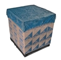 Picture of Elasticised Pallet Cover Waterproof Blue CPE 1.4x1.4m-MPAC573445- (CTN-50)