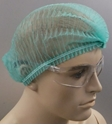 Picture of Hair Nets Non Woven Crimped GREEN 21in-APPR491902- (CTN-1000)