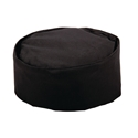Picture of Chefs Skull Cap - Black-APPR492200- (EA)