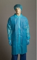 Picture of Gown Polypropylene Laboratory Blue 3/4 Length - SIZE XXXL-APPR495218- (BOX-50)