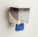 Picture of Gloves Vinyl Blue Progenics Powder Free - Cuff Dispensed - Cube Box-GLOV470625- (CTN-1600)