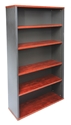 Picture of Bookcase 1800 x 900 x 315 - Appletree / Ironstone Coloured - Managers Range-FURN360428- (EA)