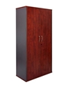 Picture of Lockable Timber Cupboard 1800 x 900 x 450mm - Appletree / Ironstone Coloured - Cabinet-FURN360431- (EA)
