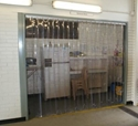 Picture of Flexible PVC Strip Curtains - temperature and hygiene control doorways - Custom Sizes-CURT670500- (EA)