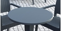 Picture of Table Top  -Werzalit -Stratos -60cm Round-FURN357450- (EA)