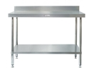 Picture of Work Bench with Splashback 900mm Wide x 600mm Deep x 900mm High-FURN358100- (EA)