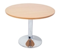 Picture of Chrome Base Round Table - 730mm High x 1200mm Round Top-FURN360282- (EA)