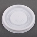 Picture of **NLA**Lid fits 4oz Paper Single Wall Hot Cup - White - Dart VL34R-CLID110492- (CTN-1000)