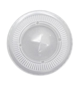 Picture of Clear Flat Lid For 8 & 10oz Tailored Plastic Cup-PLAC118550- (SLV-50)