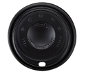 Picture of Dart Fusion Black Cappa Lids to suit 12oz and 16oz Fusion cups-FLID124220- (SLV-40)