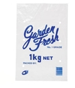 """Picture of 1kg """"Garden Fresh"""" Printed Bag LDPE Vented 330x205-MISB009350- (CTN-1000)"""