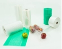 Picture of Roll Bags Gusset 450x250+100 Produce (freezer bag style) - Green-PROB015960- (ROLL)