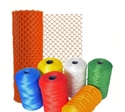 Picture of Polythene Tubular Protective Mesh Netting - 50mm x 250m - NATURAL/WHITE-MAIL641714- (ROLL)