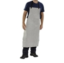 Picture of Leather Welding Apron -Bib Style F.L.(915x600) -Leather Straps-WELD827450- (EA)