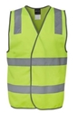 Picture of Safety Vest Fluro Pink - Day/Night - Reflective Tape-CLTH831856- (EA)