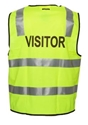 "Picture of Safety Vest Day/Night printed ""Visitor""-CLTH831915- (EA)"