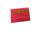 Picture of Envelopes/Doculopes Printed INVOICE ENCLOSED 115 x 165 RED-MAIL639360- (BOX-1000)